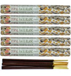 100 Incense Sticks COPAL, White Sage Brand HEM