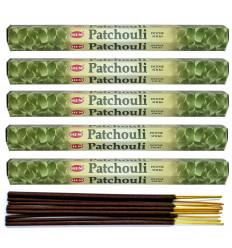 Lot 100 bâtonnets d'Encens Indien Naturel Patchouli HEM