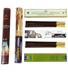 """Assortment of incense """"Magic India"""" 5 Masalas exception injustements unknown."""