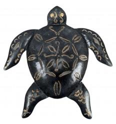 Tartaruga artigianale in ferro battuto 35cm. Decorazione murale