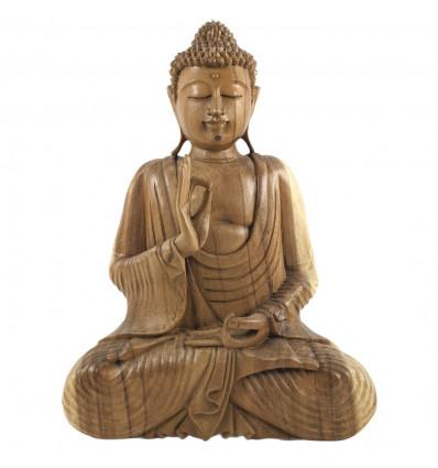 Decorazione Buddha : statua di Buddha argomento in legno a buon mercato.