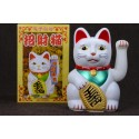 Maneki neko / Gatto giapponese bianco - Porta/felicità